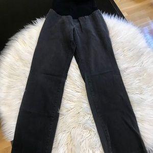 Pea in the Pod Secret Fit Belly black pants